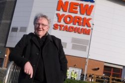 No, we did not go to New York, but to the New York Stadium in Rotherham, Yorkshire.