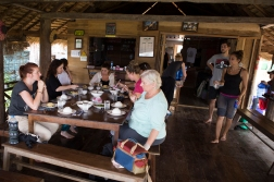 Lunch at the center's main building. All meals are included when you buy the trip.