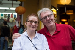 The Daughter wept farewell in Hoi An. After travelling with us for three weeks she had had her fill. She was given two weeks leave, and told to show up again in Cambodia in mid April.