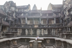 Forget the Cathedral of St Peter in Rome, Angkor Wat is the largest religious building complex in the world. It is only when you get inside you realize how large the place is.