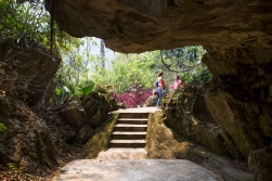Today you can visit the Pathet Lao cave headquarters, but it is quite a job to travel there.