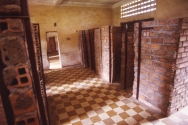 Some of the rooms were converted into single cells.