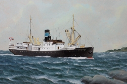 The first «Finmarken», built in 1912, was part of Hurtigruten until 1956.