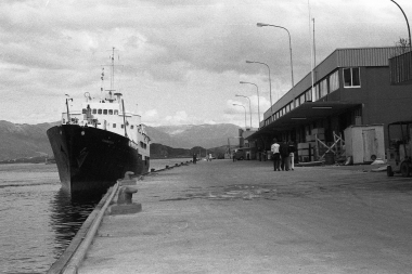 The second «Finnmarken», built in 1956, photographed by DHH in Sandnessjøen in 1980.