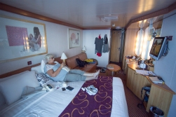 There is not much wrong with the comfort in cabin no 5395!