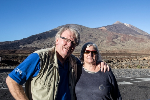 The Teide in Tenerife. This picture is from a previous visit.