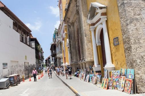 Arriving Cartagena, Colombia.