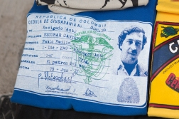 Pablo Escobar is still some sort of a local celebrity. You can buy t-shirts with him as «El Patron Del Mal», the boss of all bad. He is seen as some sort of a Robin Hood, but he was actually responsible for the death of 3000 people.