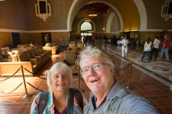 Yes, the Union Station building in Los Angeles is beautiful - but most of downtown LA is not.