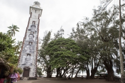 The first European to reach Tahiti was captain Samuel Wallis on the British ship «Dolphin» in 1767. This lighthouse was set up to the anniversary in 1867.
