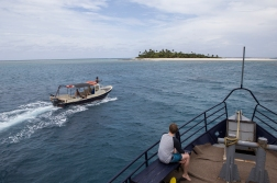 The archipelago of Tonga, another destination both we and captain Cook have visited.