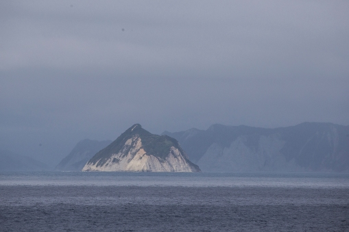 The Cook Strait, as he very much saw it. James Cook probably had a name for this rock on the southern side of North Island, but we do not know what that was.