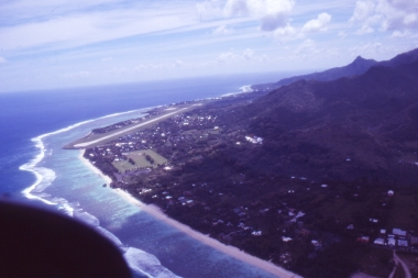Rarotonga, where the capital of the Cook Islands now sits, was ironically a place the great man never saw.