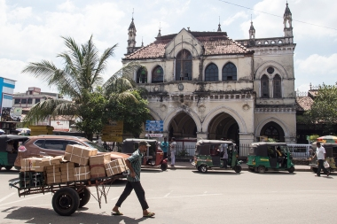 The old Colombo Town Hall.