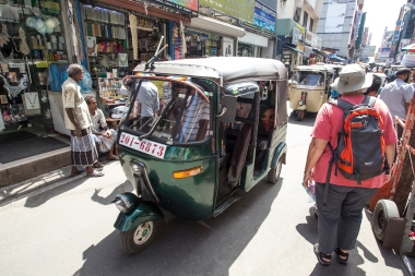 The tuk tuks, all made in India, fill the streets and offer inexpensive rides. So if you get lost walking around town you are not in trouble. You are never more than a couple of dollars away from where you started.