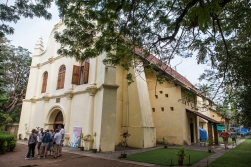 The St Francis Church in Cochin was the first church built by the Europeans in India. It dates back to 1503.