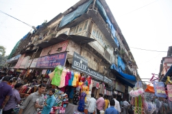 The streets of Mumbai. A guide in this labyrinth comes very handy!