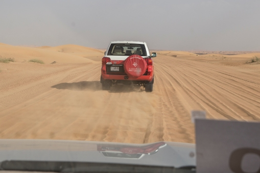 In Dubai we took a Costa excursion into the desert.