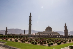 The Grand Mosque of Muscat.