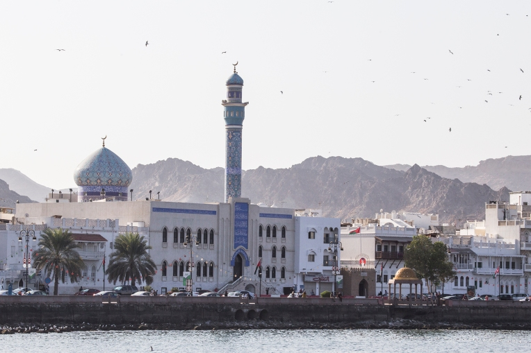 We found Muscat a rather pleasant city. No doubt there are vast fortunes hidden behind some of the traditional facades, but you are not hit over the head with the lust for luxury like you are in The Emirates.
