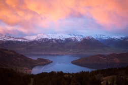 A cold and colourful Rigi sunrise on May 5, as we head back to Norway for yet another springtime!