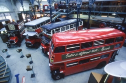 If you really love the London bus nostalgia, the Transport Museum is the place to go.