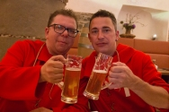 The tour is over and the Red Brigades can celebrate with a beer or ten.