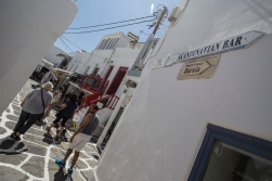 Mykonos also has a Scandinavian Bar, but no, we did not go there!
