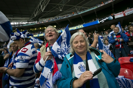 At Wembley, at the playoff final. QPR - Derby 1-0