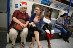 On the tube.