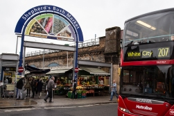 The Shepherds Bush market is one of the oldest traditional markets in town.