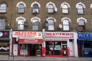 Our part of town is very international, and one way to tell is all the immigrant shops.