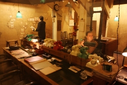 Churchill's War rooms near Westminster where the government offices from WWII are recreated.