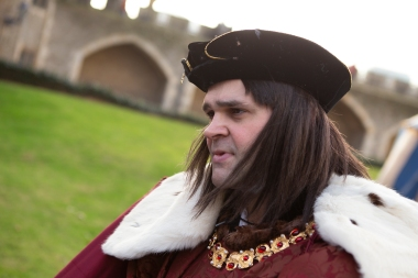On the subject of miracles, on a visit to the Tower we happened to meet Richard III. He was alive and well, despite the fact that he had, according to the papers, been found dead underneath a car park in Leicester a short time earlier. Another piece of fake news!