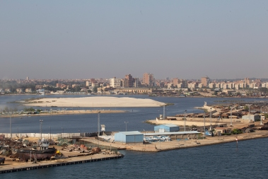 The biggest town on the route is Ismailia on the banks of Timsah Lake.