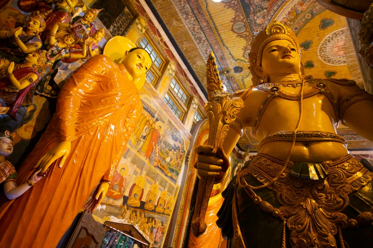 The Gangaramaya Buddhist temple and museum in Colombo, Sri Lanka