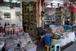 Visiting the Al Haffa Souk (market) in Salalah.