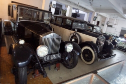 The temple also possessed several vintage cars - one of them a Rolls Royce! Every church should have one!