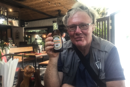 In a bar in Penang DHH found an old acquaintance, the national beer of Laos!