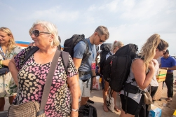 The biggest downside to a trip to Koh Rong is waiting for the speed ferry on the pier in Sihanoukville. The speed ferry may be fast, but it is never, as in absolutely never ever, on time.