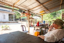 Daen Thkav Village is some 20 minutes walk from Coconutbeach, and they sell beer there too!