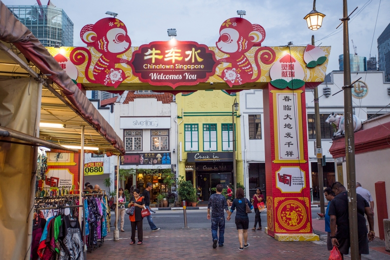 The Costa Luminosa World Cruise September to December 2016. In Chinatown