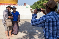 As tourist armed with various cameras we are used to taking pictures of the locals - but now and then there are also locals who want to take pictures of us!