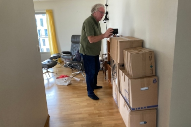 During almost five years of travelling we have moved into, and moved out of, three different apartments. We have bought Ikea furniture and equipment and packed the remains in Ikea boxes. We should have been given honorary Swedish citizenships by now!