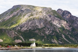 Valberg Church at Vestvågøy.
